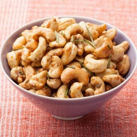 Cashew oregano chilly bar-b-que